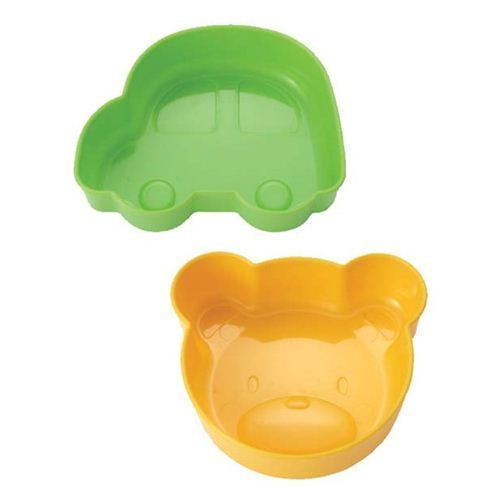 bear and car bowls Bento cups rice shaper