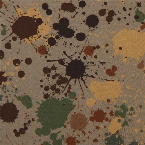 Robert Kaufman splatter fabric