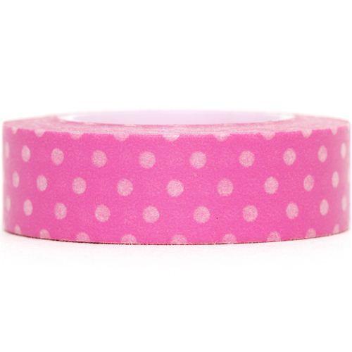 pink Washi Masking Tape deco tape dots