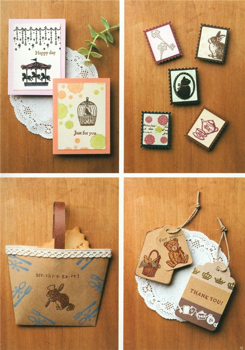 These cute paper bags and tags look super professional