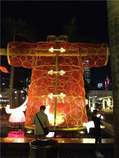 Chinese Male Costume Lantern