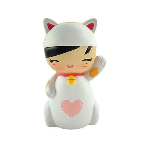 Japanese momiji doll friendship doll Lucky Kitty