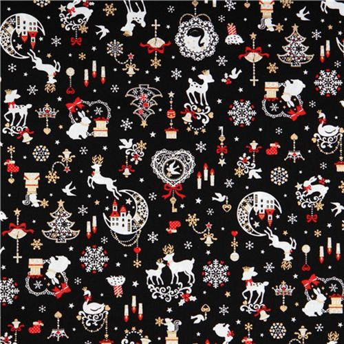 cute Christmas fabrics and Halloween fabrics 2010 1