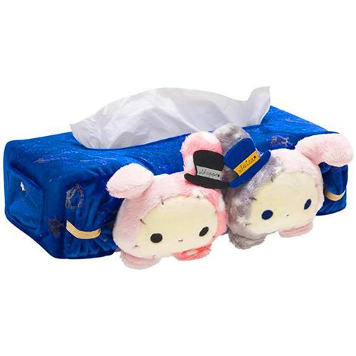 blue Sentimental Circus star sign zodiac plush tissue box