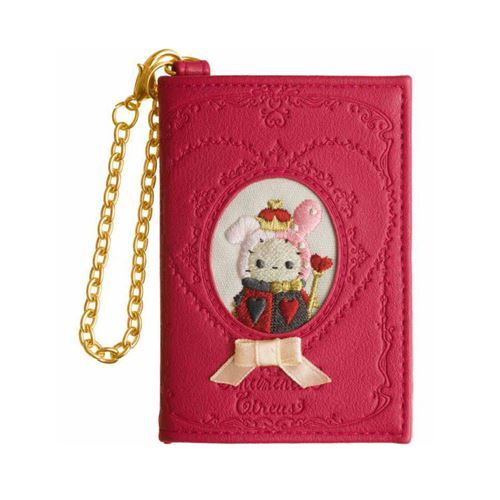 red Sentimental Circus rabbit wallet coin case pouch by San-X from Japan