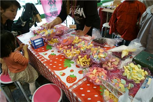 Hand-made food items!