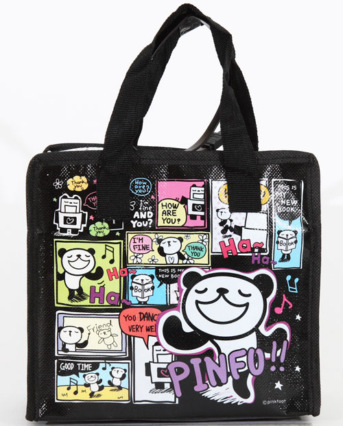 pinkfoot kawaii panda bag