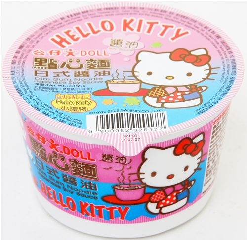 Hello Kitty instant noodles
