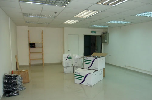 our new office space