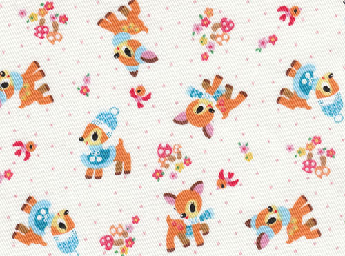 cute Kokka fabric with deers