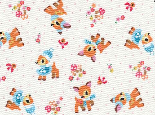 cute Kokka fabric with deers