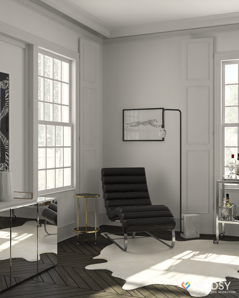 Industrial Hollywood Glam: Designing an Industrial Chic