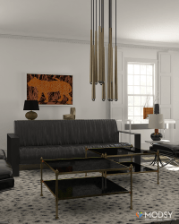 Industrial Hollywood Glam: Designing an Industrial Chic ...