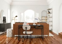 Work From Home: 9 Places to Put an Office in the Living Room