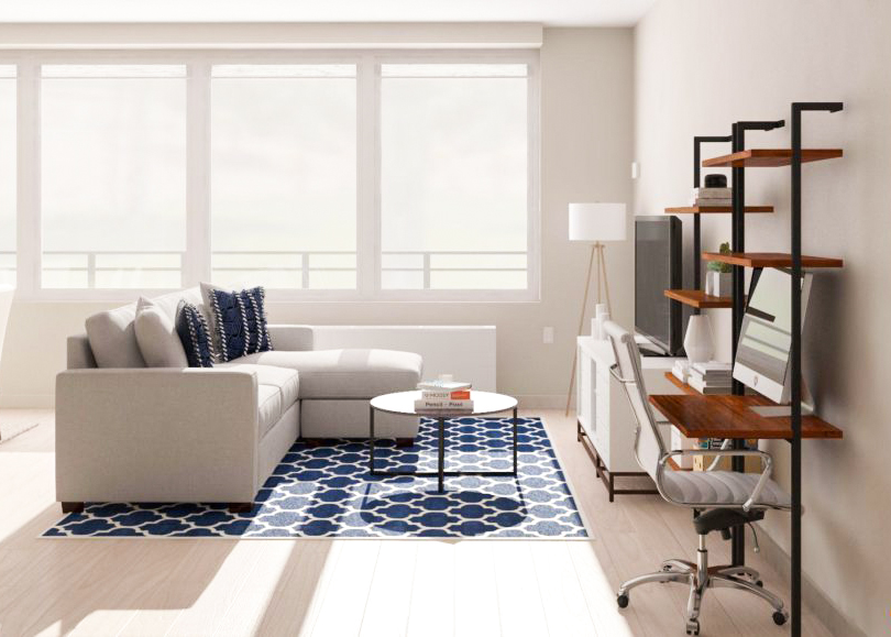living room office ideas with dark hardwood floors work from home 9 places to put an in the