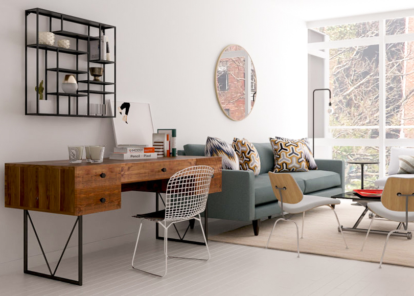 living room office grey set work from home 9 places to put an in the