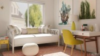 Simple Office-Meets-Guest Room Decorating Ideas  Modsy Blog