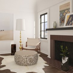 Pouf In Living Room Designs There It Is 6 Ways To Use A Your Home 5 Add Pop Of Personality