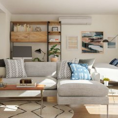 Living Room Furniture For Studio Apartments Luxury American Villa Interior Design Apartment Layout Ideas Two Ways To Arrange A Square Guide