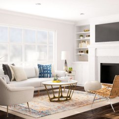 Living Room Sectional Ideas Small With Kitchen Layout Deciding On A Sofa Or For An Open Space Idea 1 The Conversation Ring