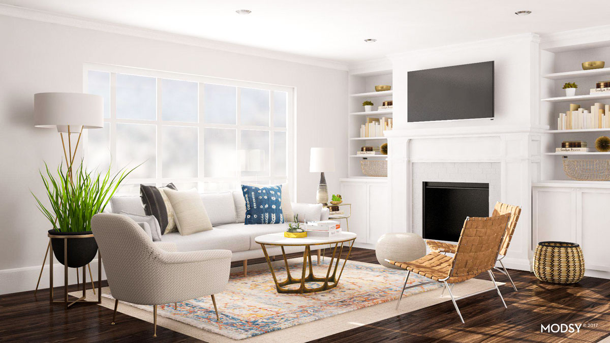 Layout Ideas Deciding On A Sofa Or Sectional For An Open Living Space