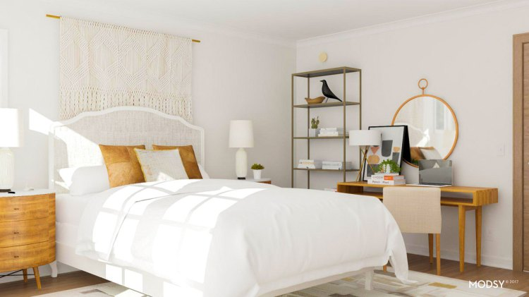 Two Smart Layout Ideas To Maximize A Boxy Bedroom