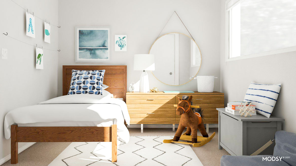 8 Cool Kids Bedroom Ideas From Modsy Customer Spaces