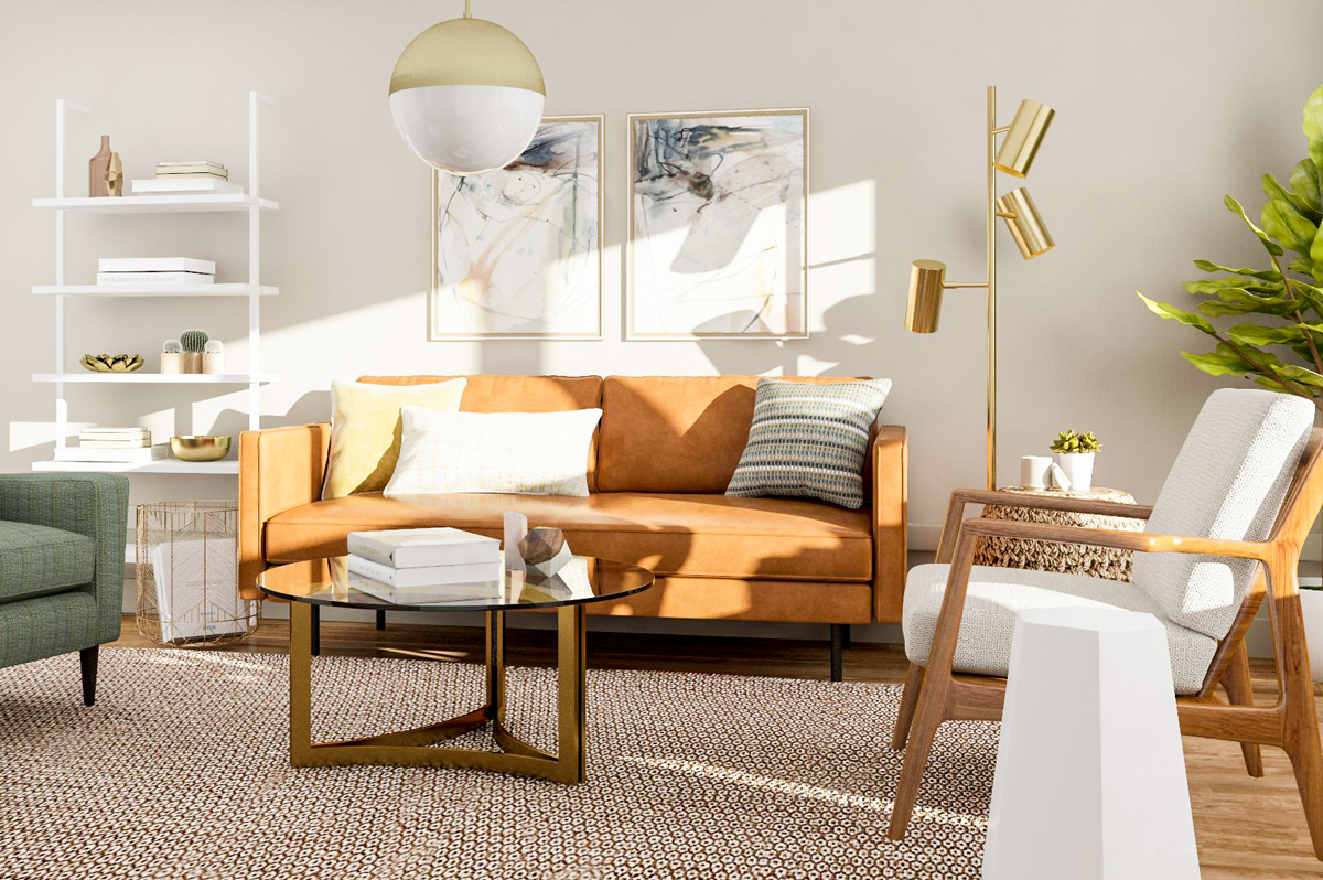 Modern Living Room Design – 5 Ways to Try a Mid Century Style