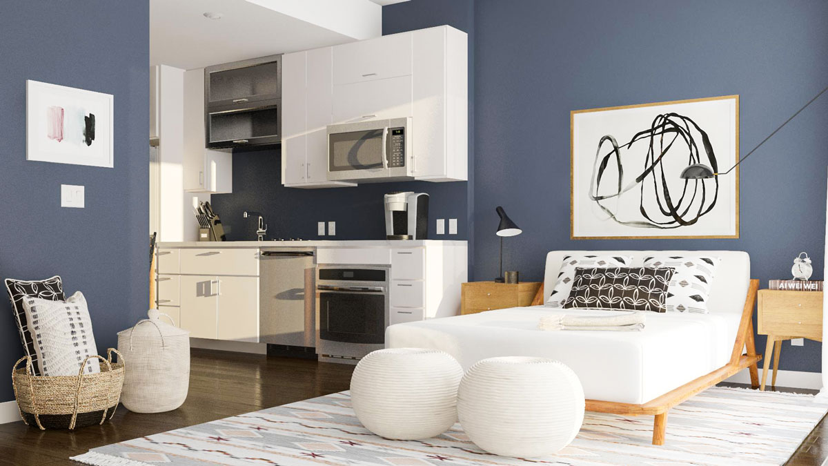 hight resolution of l shaped studio apartment layouts