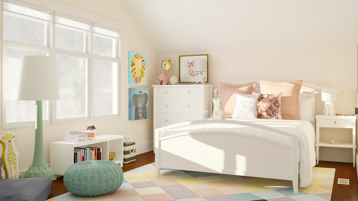 The Easy Online Way I Designed My Daughter S Room Modsy Blog
