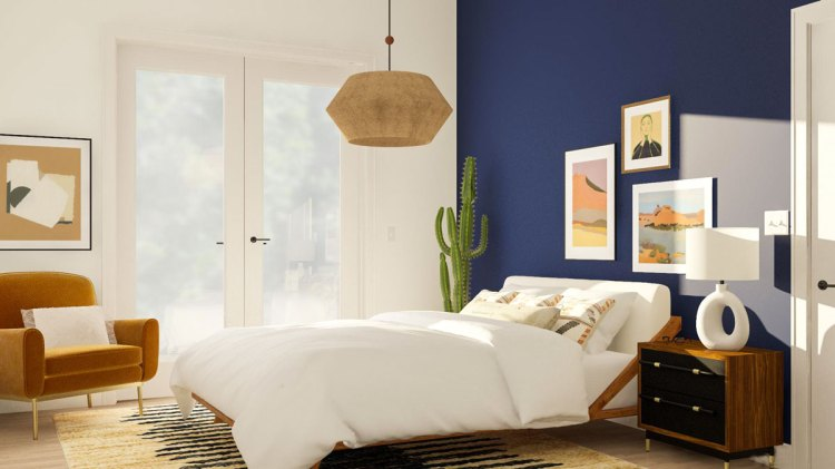 5 Best Blue Bedroom Ideas From Modsy Stylists Modsy Blog