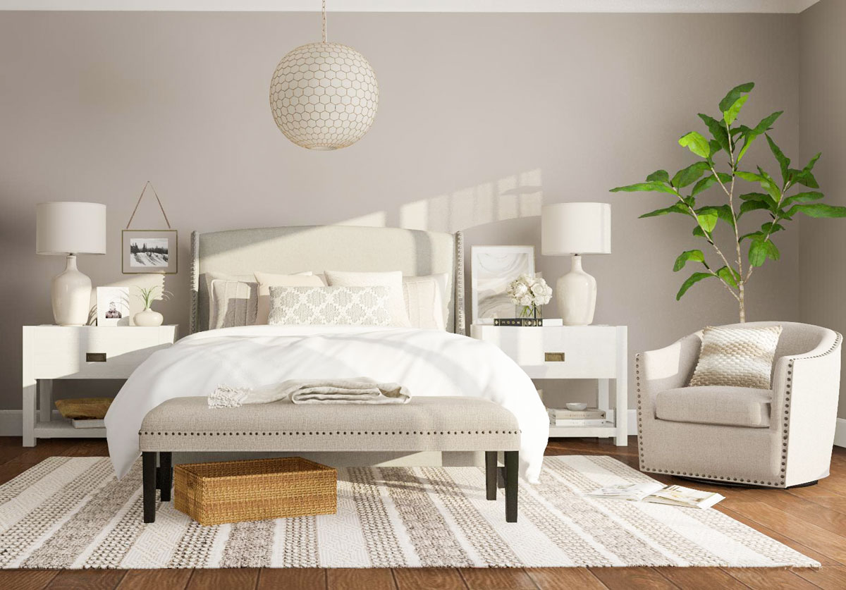 7 All White Bedroom Design Tips You Need To Know Modsy Blog