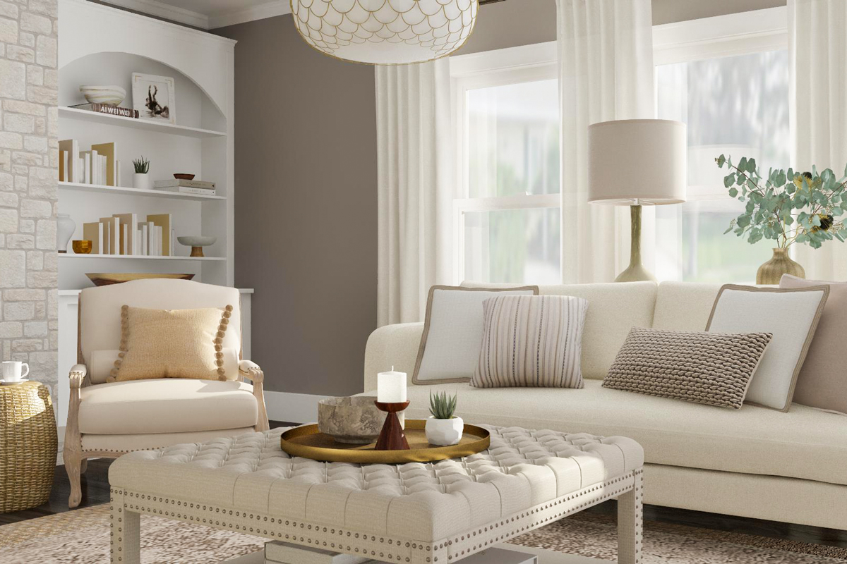 All White Living Room Ideas How To Get The Look Modsy Blog