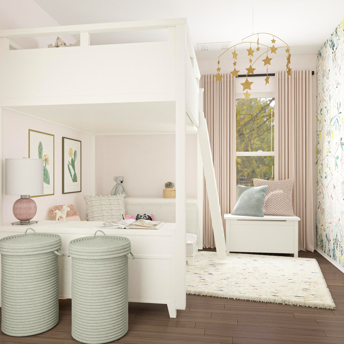 shared kids bedroom layout ideas 10