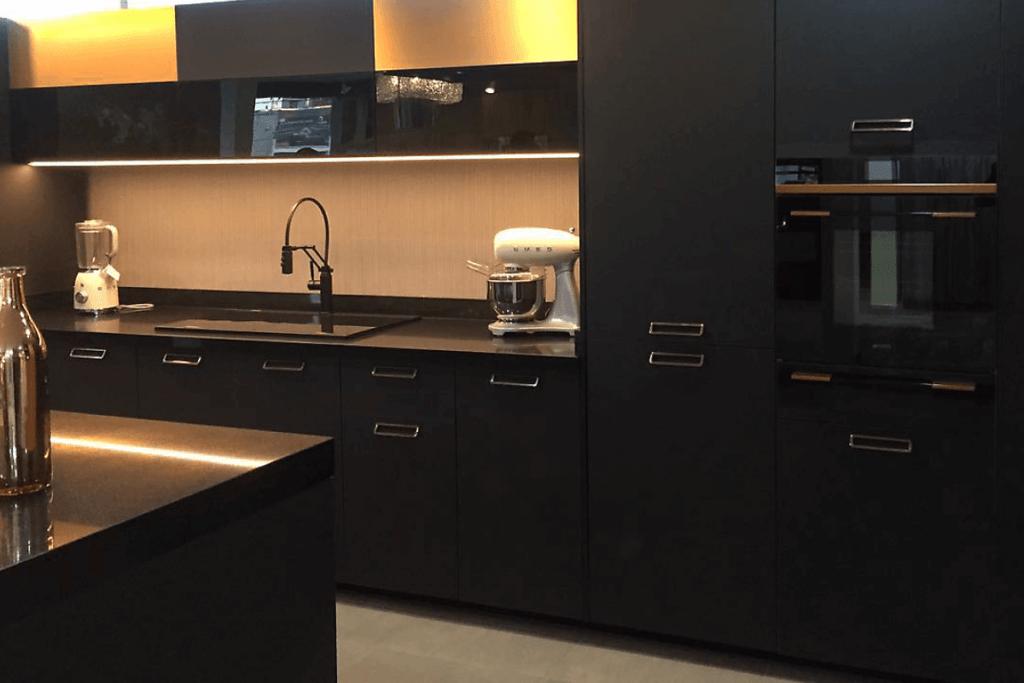 Blanco Minimalistas Cocinas Integrales Modernas
