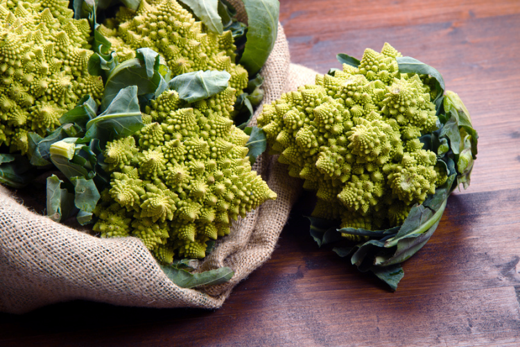 Romanesco with Leaves