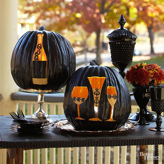Creative Pumpkin-Carving Ideas and Patterns