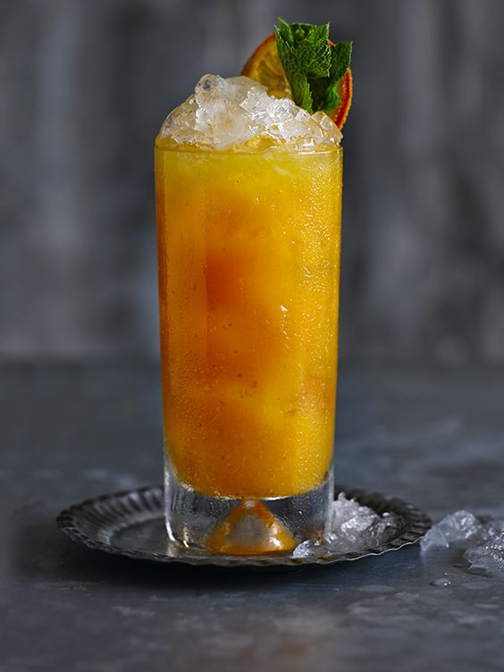 Pumpkin & Spiced Rum Cocktail