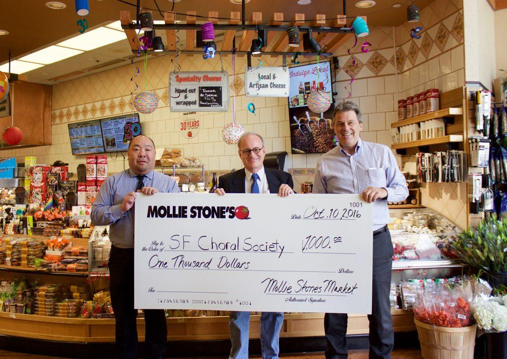 Mollie Stones Markets Celebrates 30th Anniversary Giving
