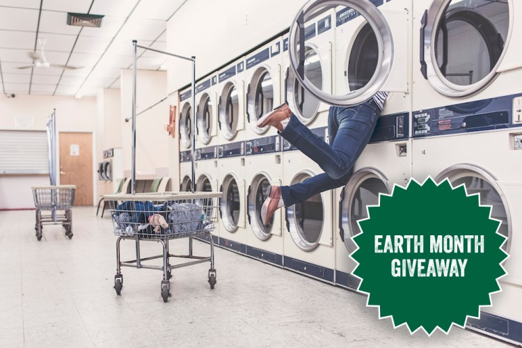 Easy Laundry Hacks and Earth Month Giveaway 2017