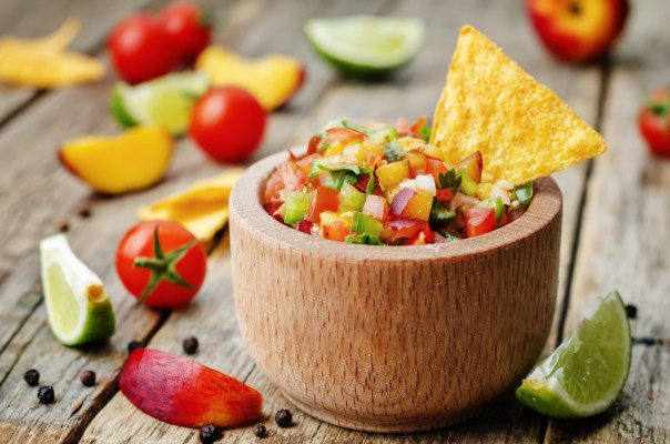 Summer Peach Tomato Salsa