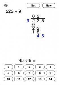 App Friday: Long Division & Column Addition by iDevBooks