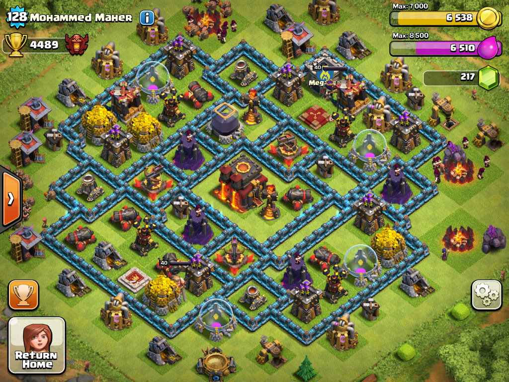 how to play offline clash of clans