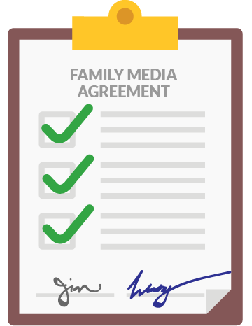 Family Media Agreement by Common Sense Media