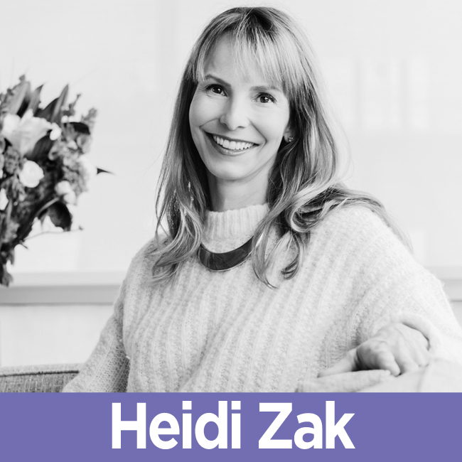 Heidi Zak on The Mentor Files with Monica Royer