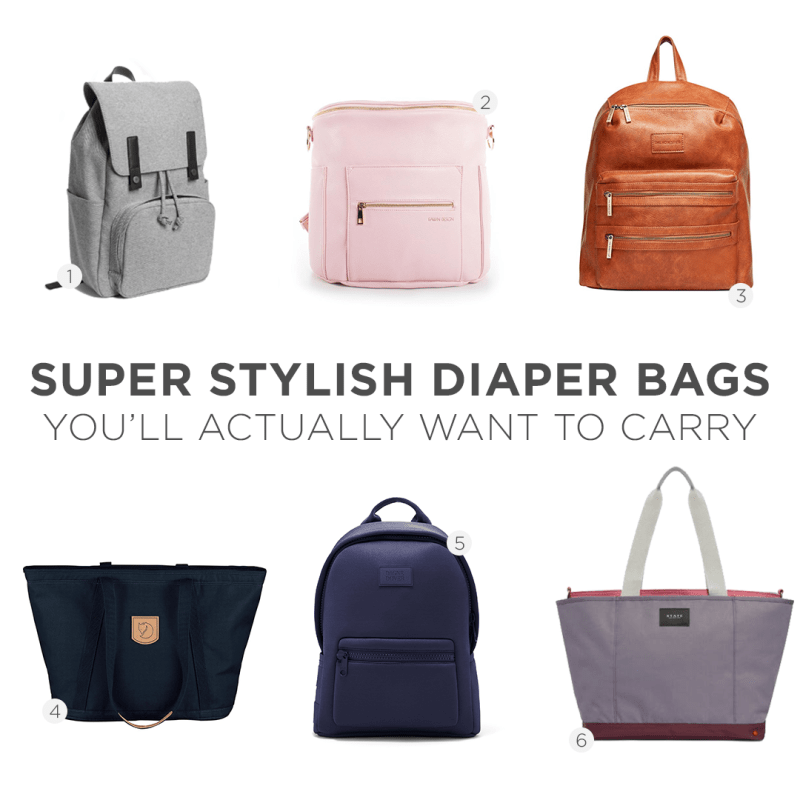 8e827d68bd5a 10 Super Stylish Diaper Bags You ll Actually Want to Carry - Monica ...