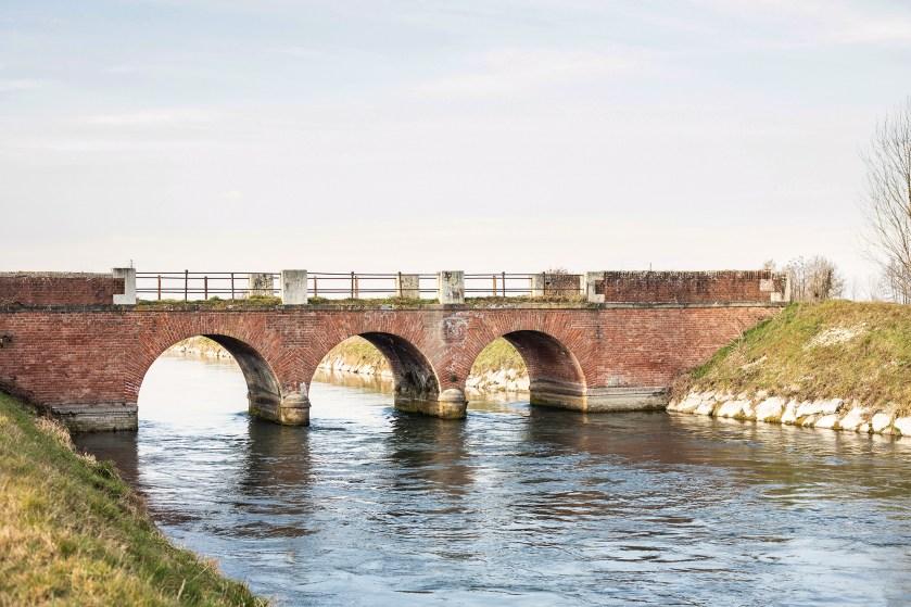 Il canale Vacchelli a Crema (Cr)