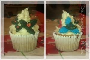 Cupcake con buttercream y detalles de fondant