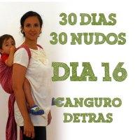 Día 16.- Canguro detrás #30dias30nudos