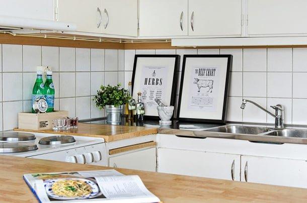 decoracao-com-quadros-cozinhas
